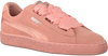 Roze PUMA Sneakers SUEDE HEART EP WMN  - small