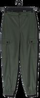 Groene DRYKORN Pantalon FREIGHT