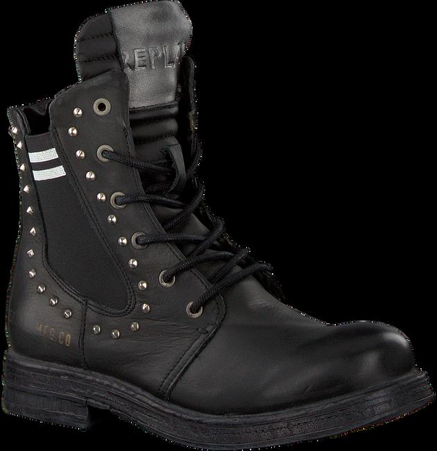 Zwarte REPLAY Biker boots RL260059L SKIN - large