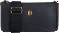 Blauwe TOMMY HILFIGER Schoudertas BINDING CROSSOVER  - medium