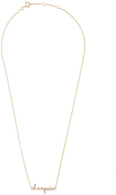 Gouden ALLTHELUCKINTHEWORLD Ketting URBAN NECKLACE CHAMPION - large