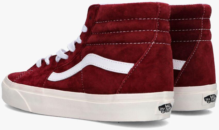 Rode VANS Hoge sneaker UA SK8-HI DAMES  - larger