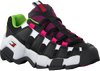 Zwarte TOMMY HILFIGER Lage sneakers CHUNKY HERITAGE WMNS  - small