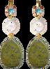 Groene JEWELLERY BY SOPHIE Oorbellen WONDER GOLD - small