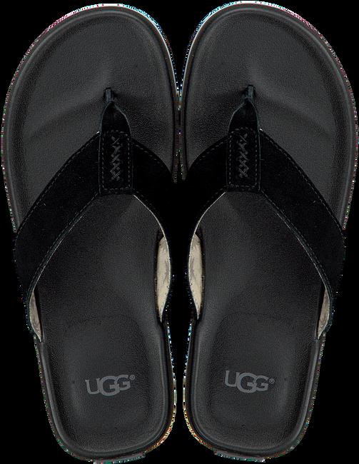 Zwarte UGG Slippers BEACH FLIP  - large