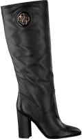 Zwarte GUESS Lange laarzen LEMMIE  - medium