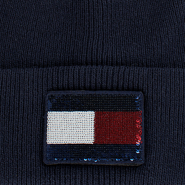 TOMMY HILFIGER  Muts SWAP YOUR PATCH BEANIE  - large