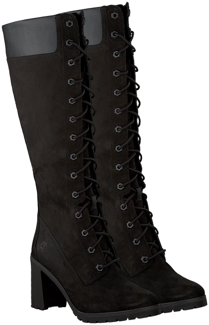 Zwarte Lange Laarzen ALLINGTON 14IN SIDE ZIP - large