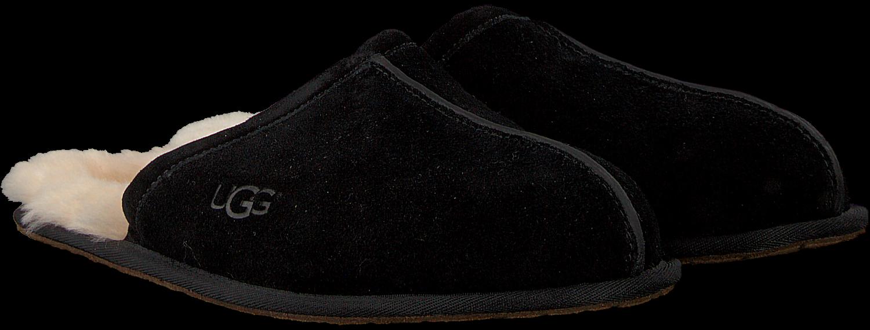 Zwarte UGG Pantoffels SCUFF