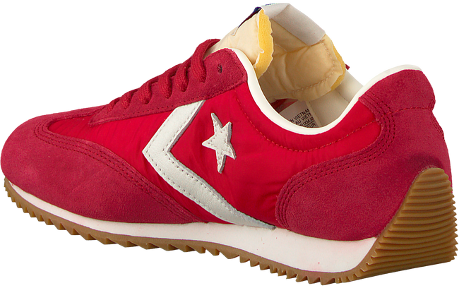 Rode CONVERSE Ballerina's ALL STAR TRAINER OX ENAMEL RE - large