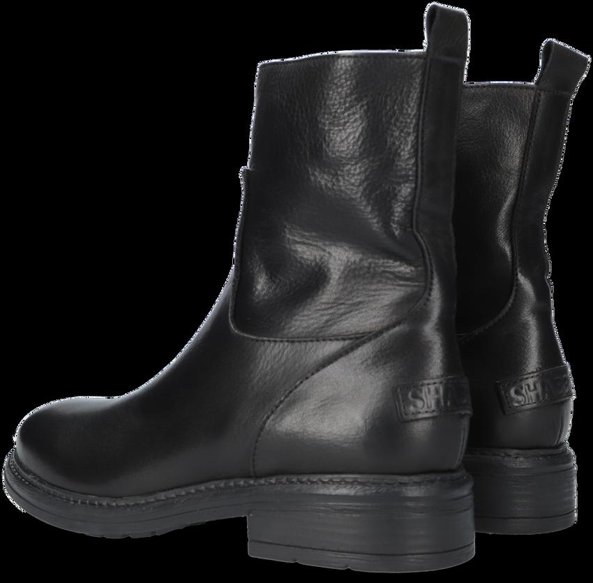 Zwarte SHABBIES Enkellaarsjes 181020200  - larger
