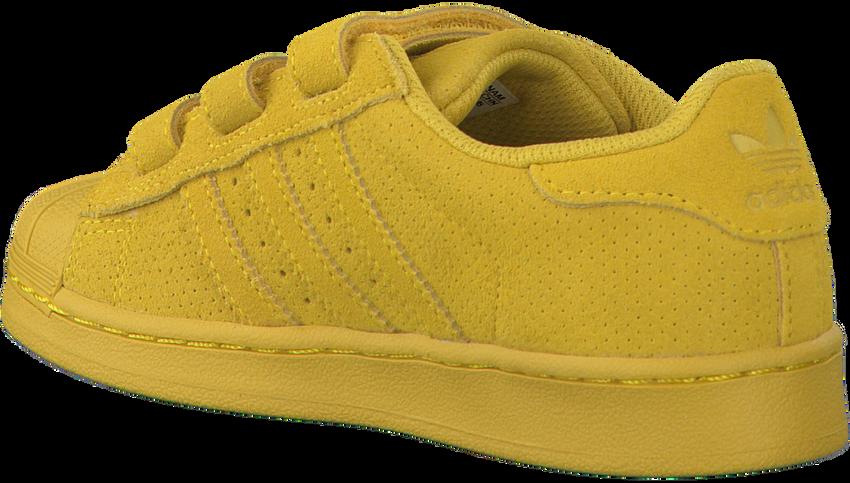 Gele ADIDAS Sneakers SUPERSTAR CF  - larger