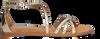 Gouden UNISA Sandalen CARCER  - small