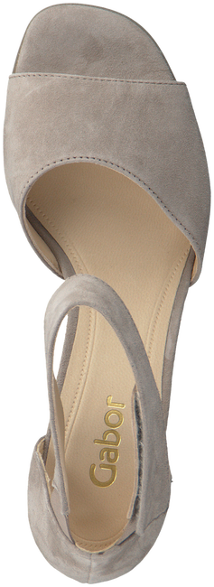 Taupe GABOR Sandalen 800  - large