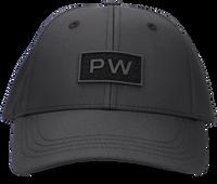 Zwarte PUREWHITE Pet 'PW' VELCRO BADGE ON FRONT  - medium