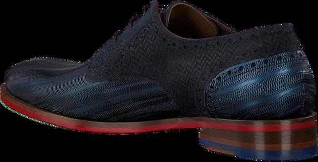 Blauwe FLORIS VAN BOMMEL Nette schoenen 18107  - large