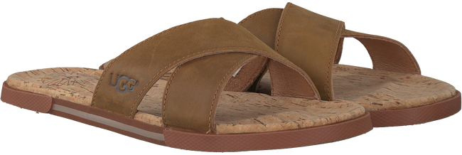 Cognac UGG Slippers ITHAN CORK  - large