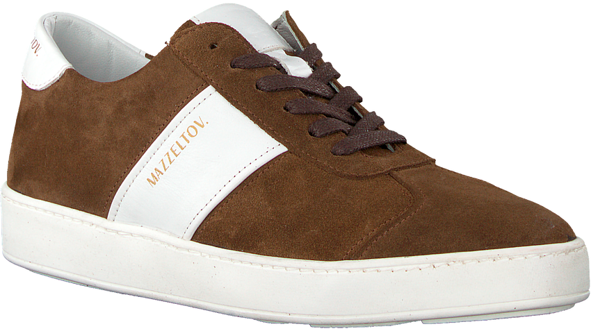 Bruine MAZZELTOV. Sneakers 3463  - larger