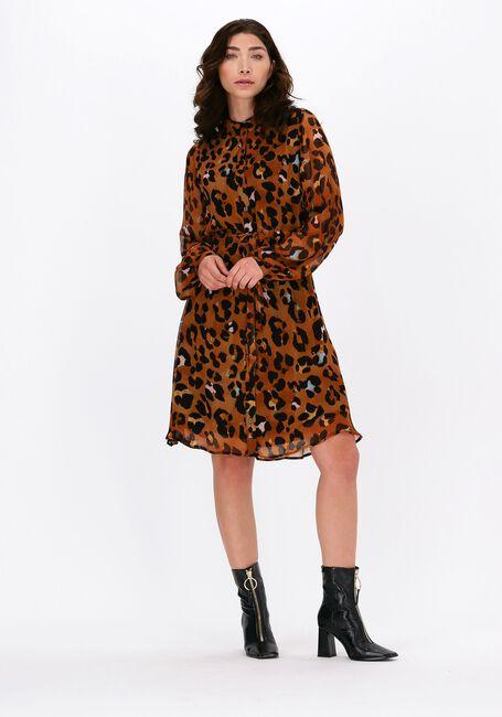 Cognac FABIENNE CHAPOT Mini jurk FRIDA CATO SHORT DRESS  - large