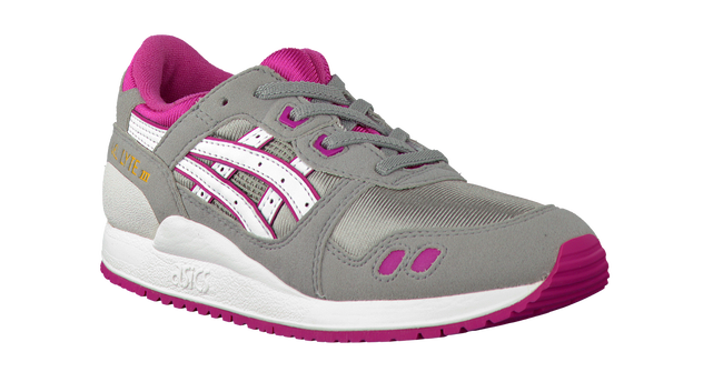 Grijze ASICS TIGER Sneakers GEL LYTE III KIDS  - large