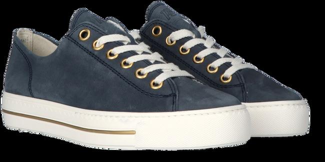 Blauwe PAUL GREEN Lage sneakers 4704  - large