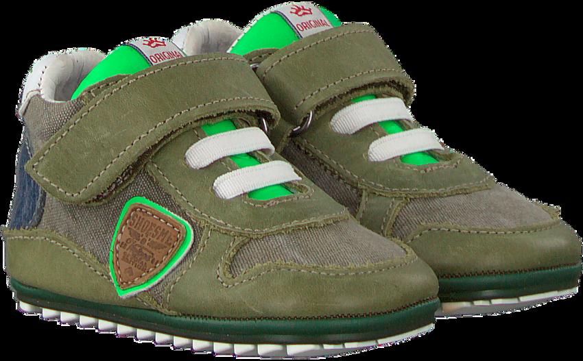 Groene SHOESME Babyschoenen BP9S038 - larger
