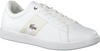 Witte LACOSTE Sneakers CARNEBY EVO  - small