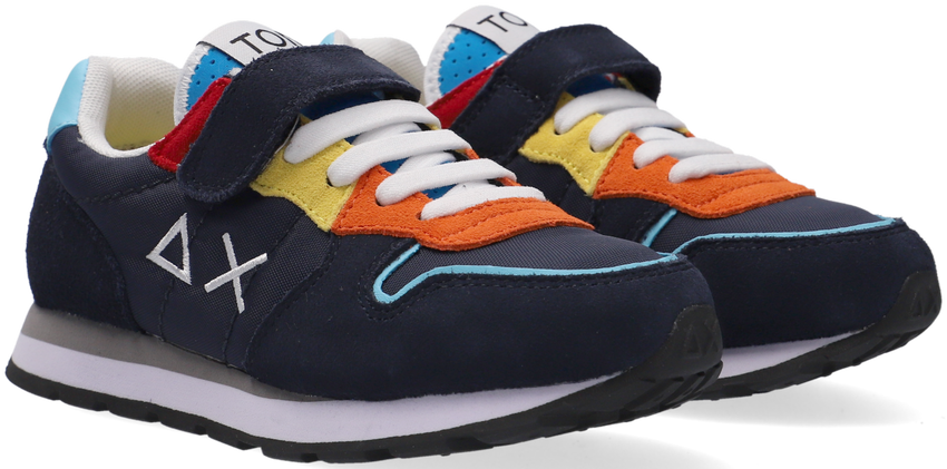 Blauwe SUN68 Lage sneakers BOYS TOM IS FUNNY  - larger
