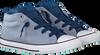Blauwe CONVERSE Sneakers CTAS STREET MID KIDS - small