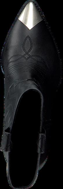 Zwarte LOLA CRUZ Enkellaarsjes 293T30BK  - large