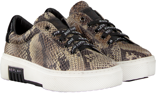 Beige REPLAY Sneakers GINKO  - large