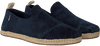 Blauwe TOMS Instappers DECONSTRUCTED ALPARGATA ROPE M - small