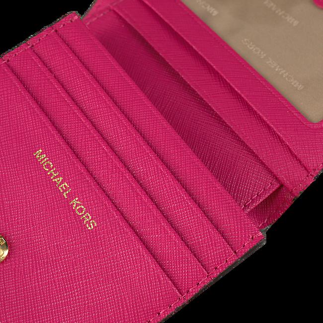 Roze MICHAEL KORS Portemonnee FLAP CARD HOLDER - large