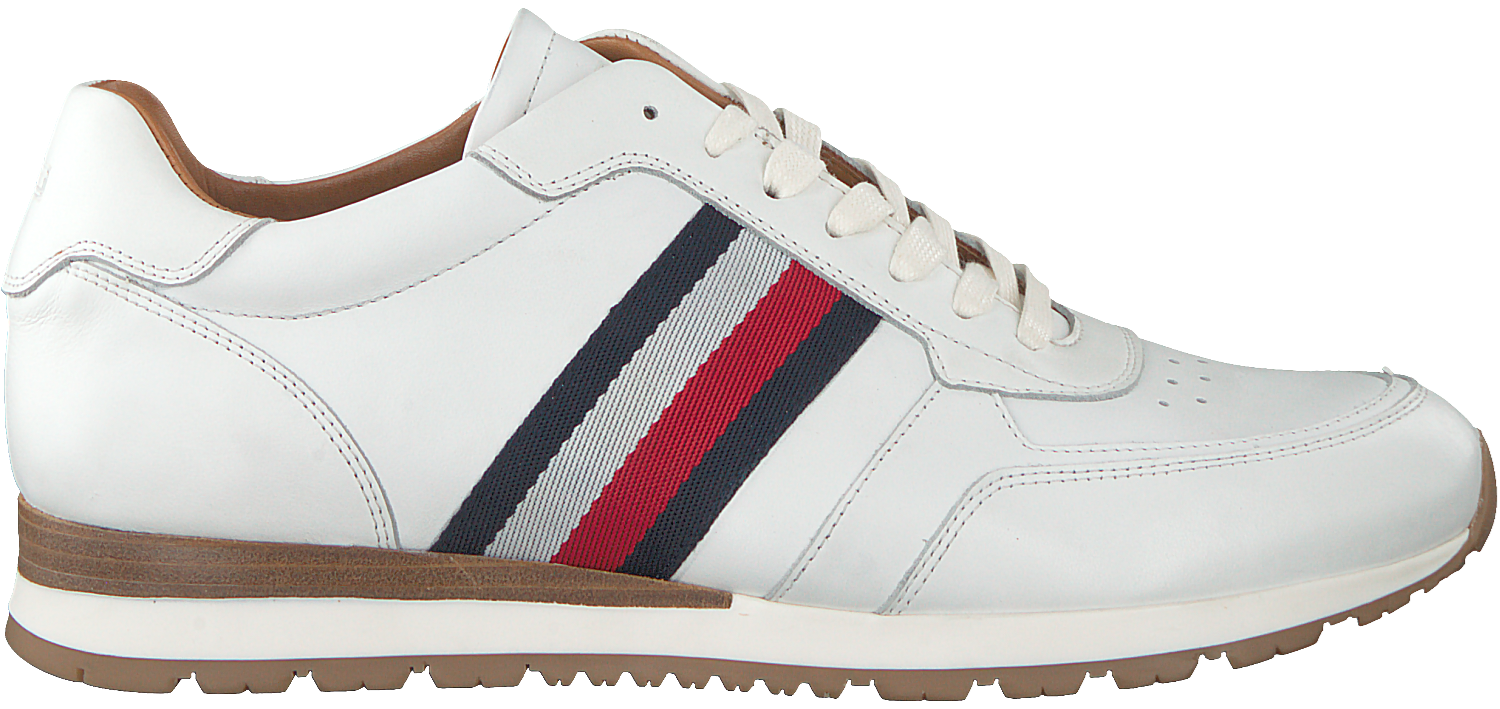 Witte Luxury Runner Wit Corporate Tommy Sneakers Hilfiger Leather UzLjqSMpVG