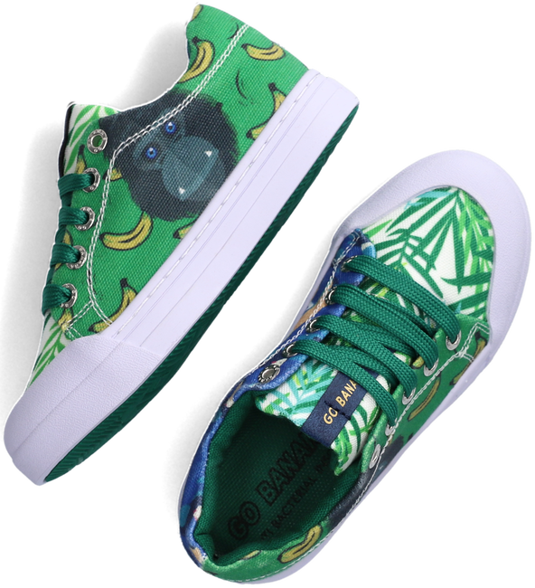 Groene GO BANANAS Lage sneakers GB_MONKEY-L  - large
