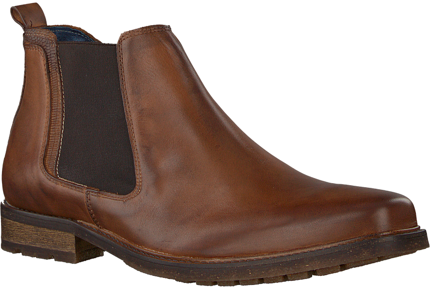 Cognac OMODA Chelsea boots 730 - larger