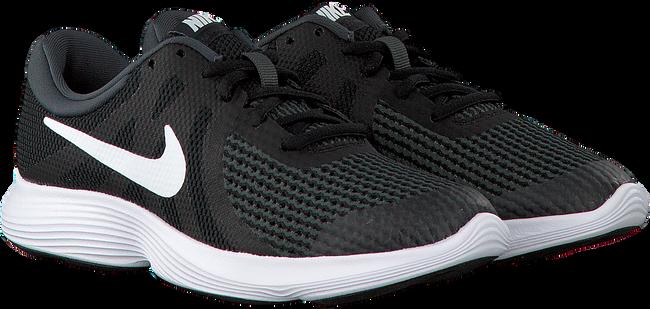 Zwarte NIKE Sneakers REVOLUTION 4 (GS)  - large
