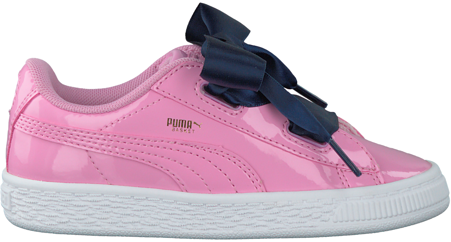 feaf7431c6e Roze PUMA Sneakers BASKET HEART PATENT KIDS - large. Next
