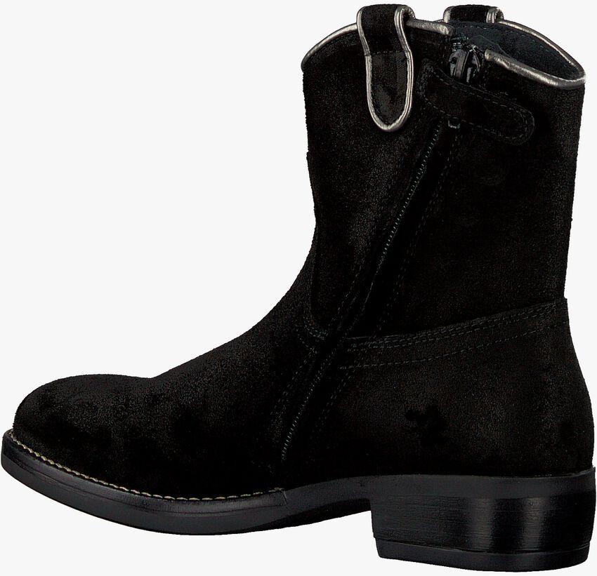 Zwarte OMODA Enkellaarsjes O1024  - larger