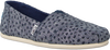Blauwe TOMS Instappers CLASSIC - small