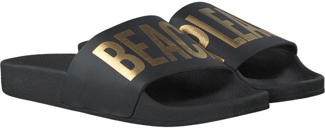 Zwarte THE WHITE BRAND Slippers BEACH PLEASE  - large