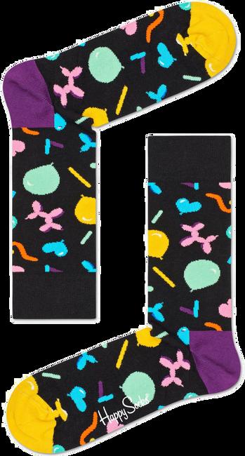 Zwarte HAPPY SOCKS Sokken BALLOON ANIMAL - large