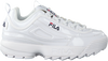 Witte FILA Sneakers DISRUPTOR M LOW WMN  - small