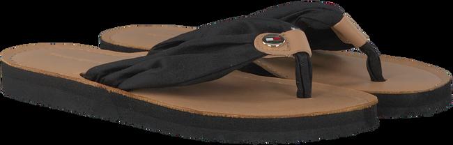 Zwarte TOMMY HILFIGER Slippers BEACH SANDAL  - large