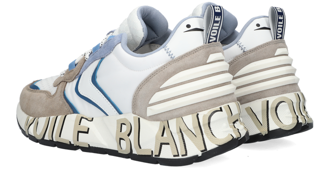 Grijze VOILE BLANCHE Lage sneakers CLUB 12  - large