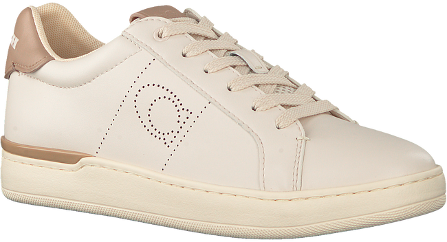 Beige COACH Lage sneakers ADB LEATHER-SUEDE LOW TOP  - large