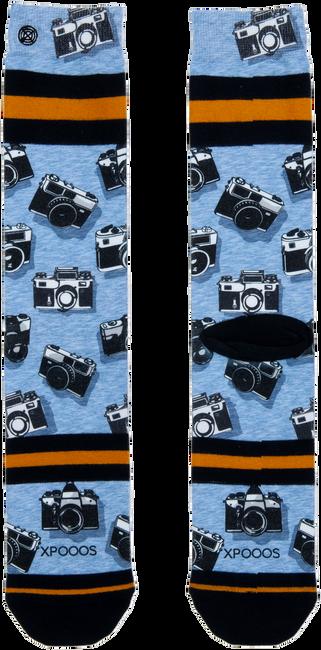 Blauwe XPOOOS Sokken CAMERAS  - large