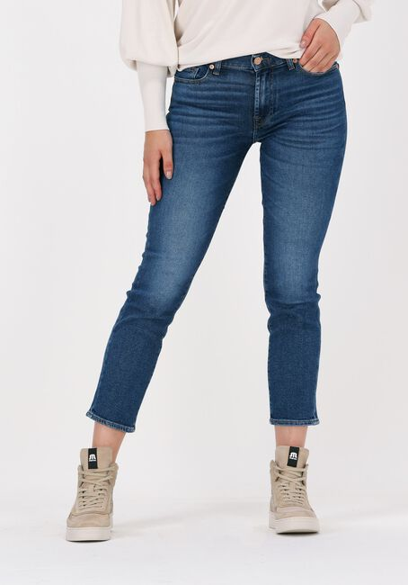Blauwe 7 FOR ALL MANKIND Slim fit jeans ROXANNE ANKLE - large