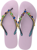 Paarse UZURII Slippers COLORFUL STAR - small