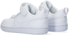 Witte NIKE Lage sneakers COURT BOROUGH LOW 2 (PS)  - small